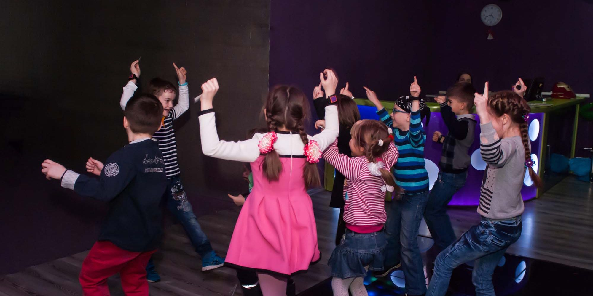 Children's disco in Norfolk