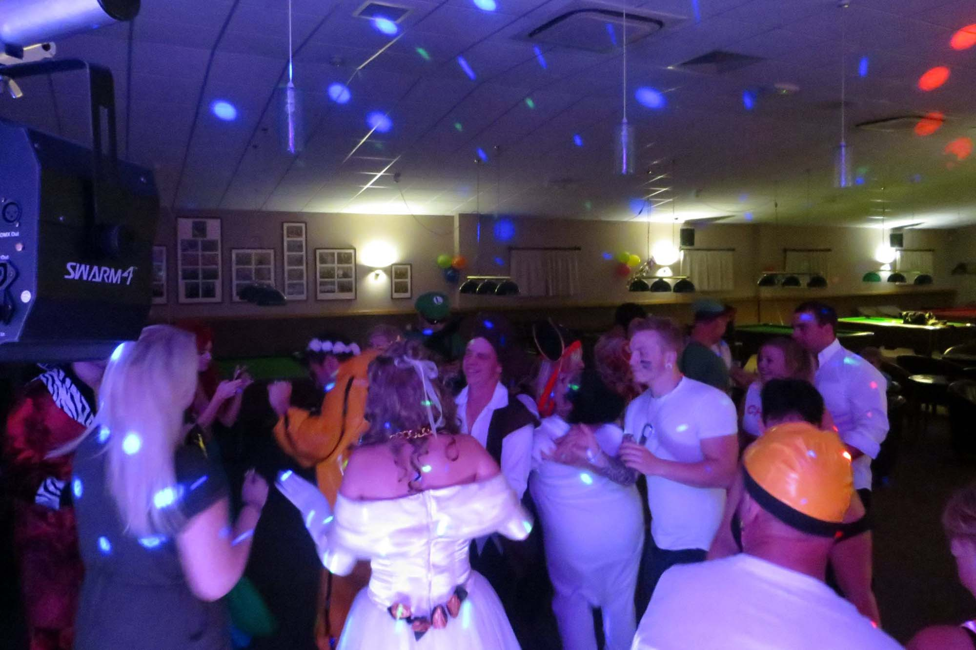 Themed party in Cambridgeshire